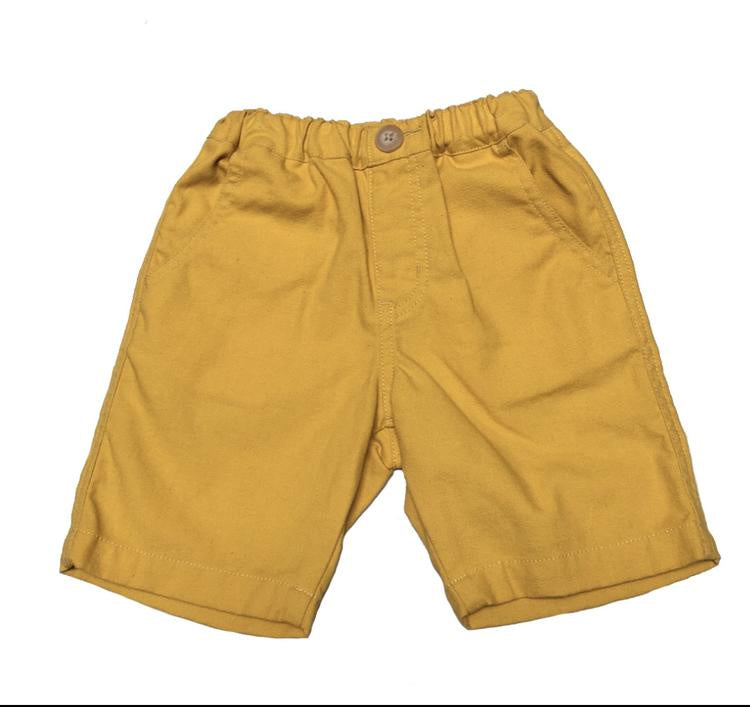 Bitz kids shorts Boy 23020 ~ Mustard