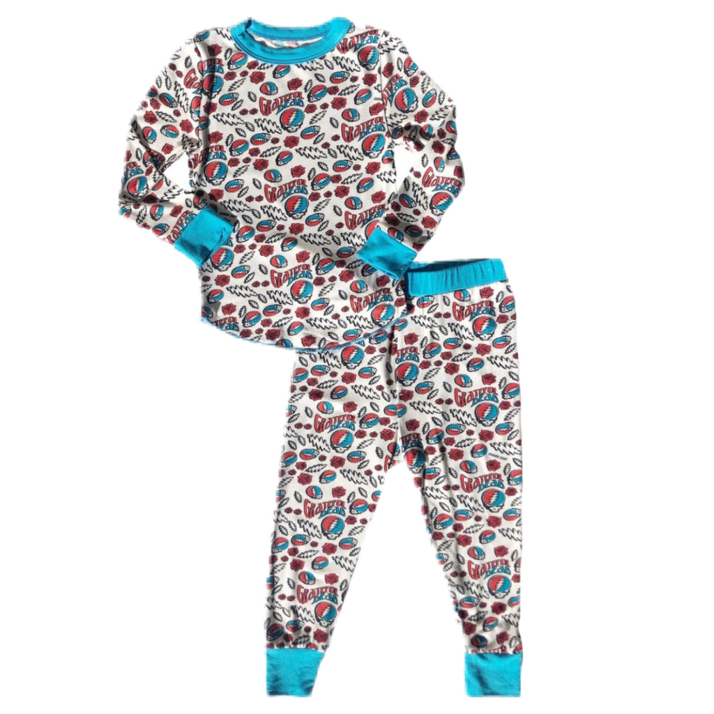 Rowdy Sprout Long Sleeve PJ Sets ~ Boy ~ Grateful Dead ~ FW20