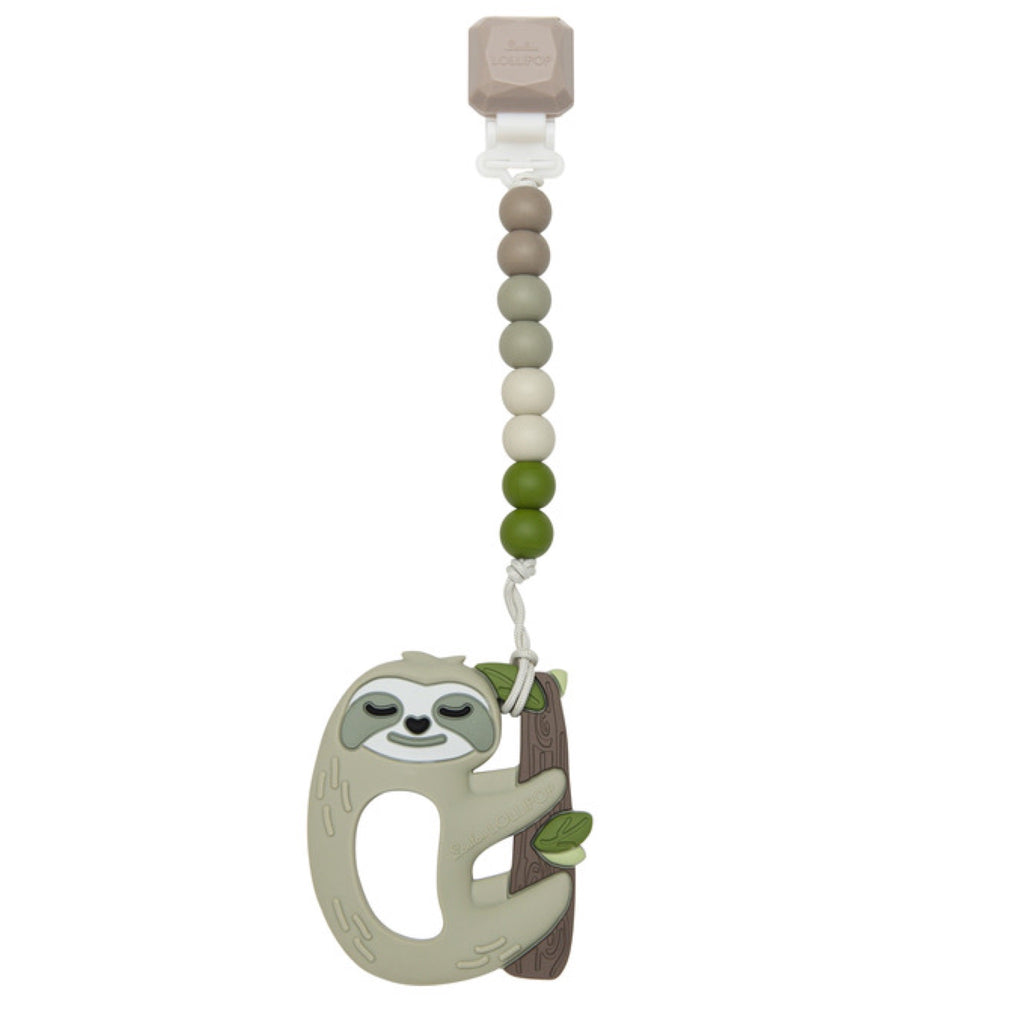 Loulou Lollipop Teether Gem Set ~ Sloth