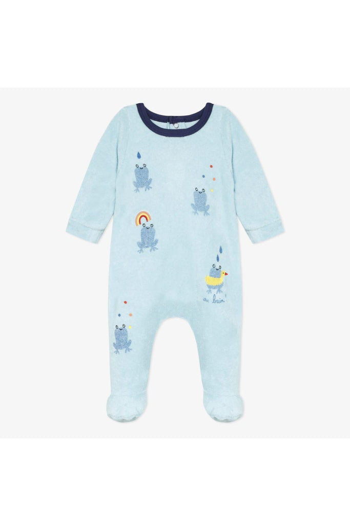 Catimini Terry footie pajama 54030