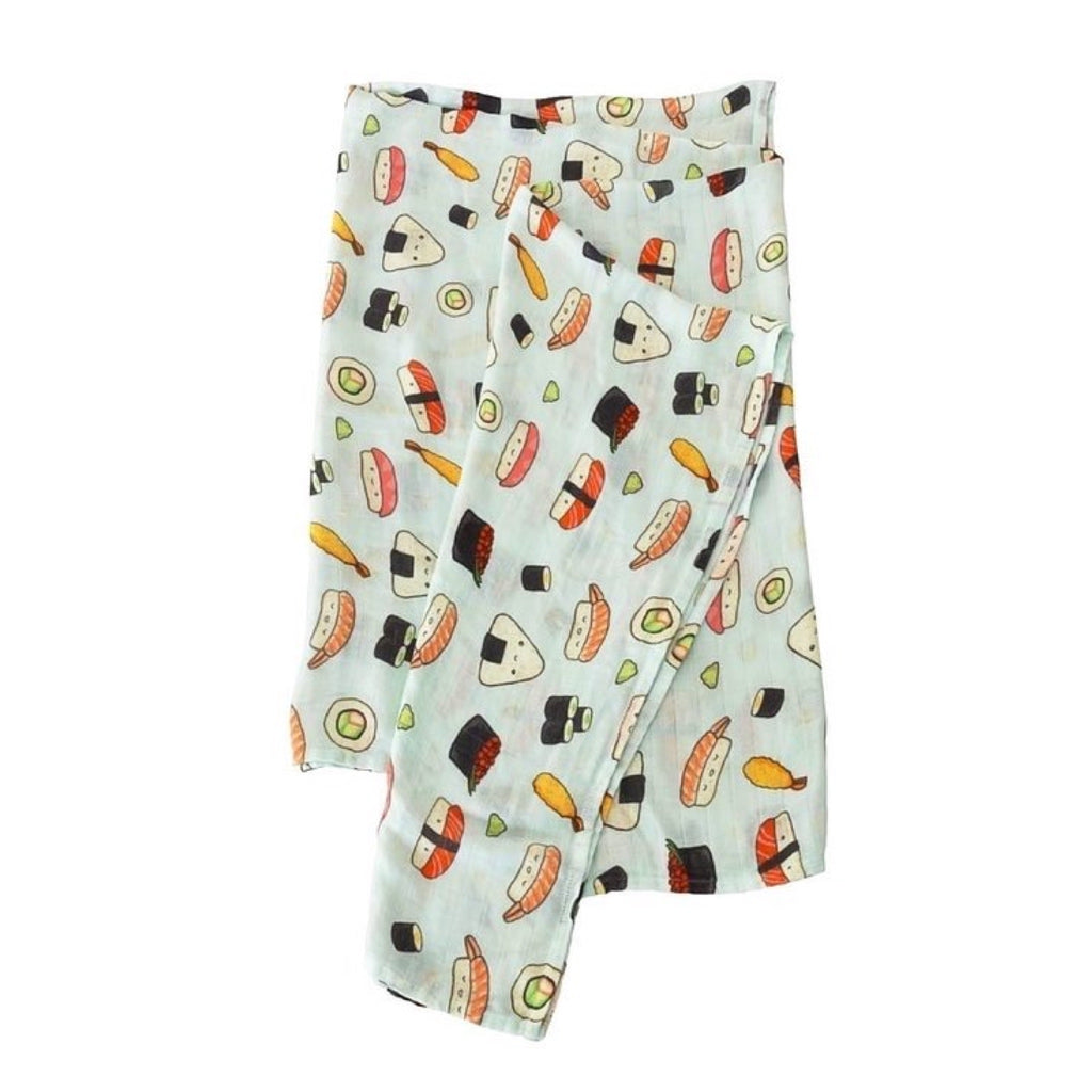 Loulou Lollipop Muslin Swaddle ~ Sushi