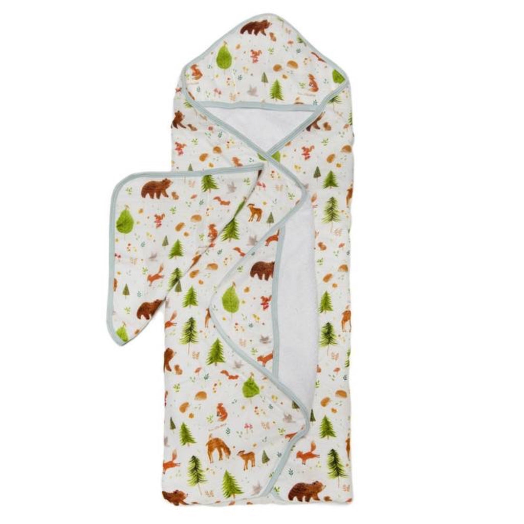Loulou Lollipop Hooded Towel Set ~ Forest Friends
