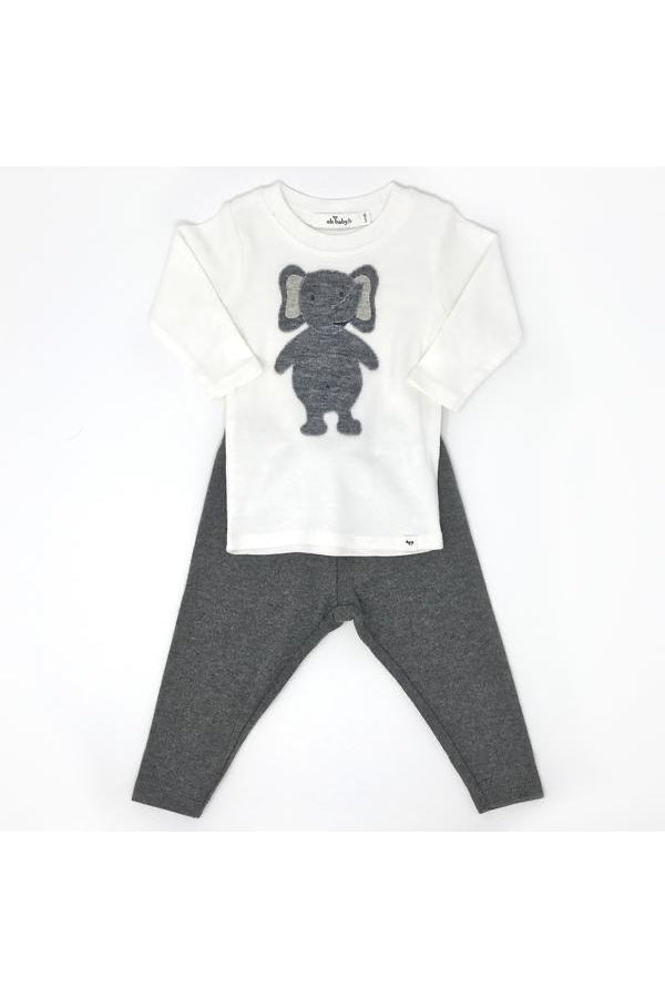 Oh Baby Ragdoll Elephant 2pc set