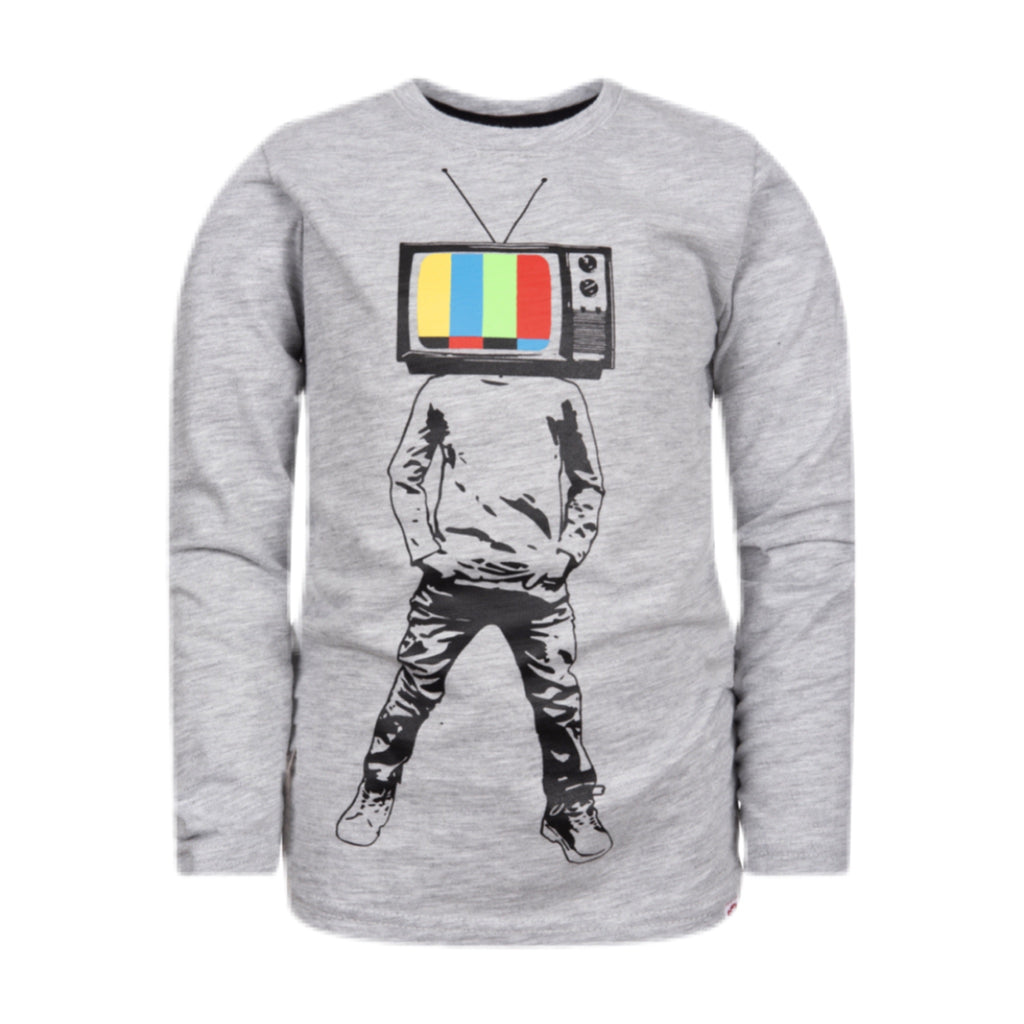 Appaman Graphic Long Sleeve Tee ~Plugged In Boy