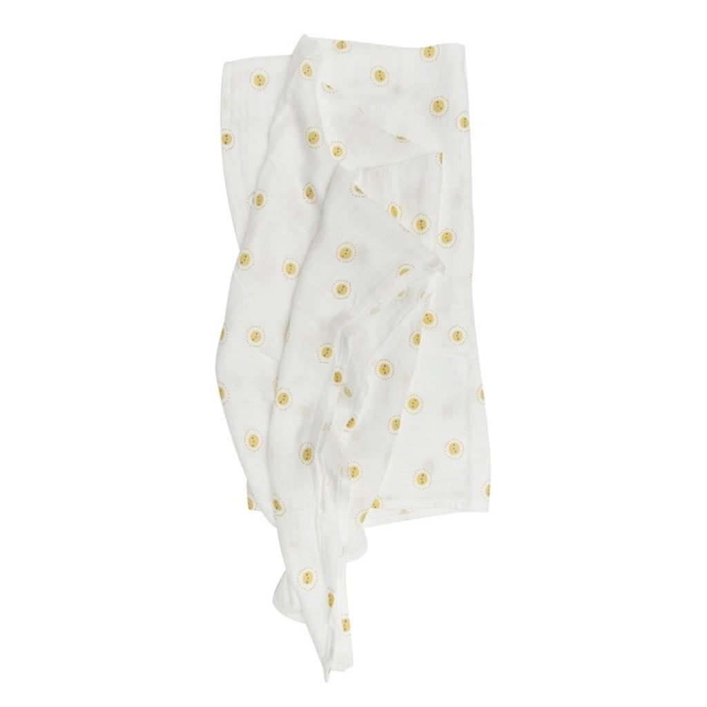 Loulou Lollipop Muslin Swaddle ~ Rise and Shine