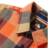 Scotch Shrunk Boys Yarn Dyed Check Shirt~  Red
