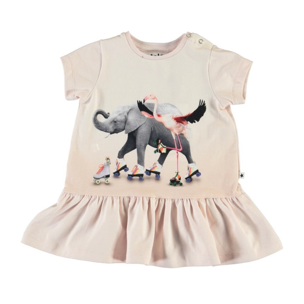 Molo Baby Girl Campa SS Dress ~ Rolling Friends
