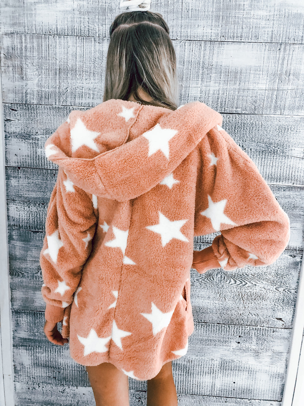 Mauve Star Bear Coat