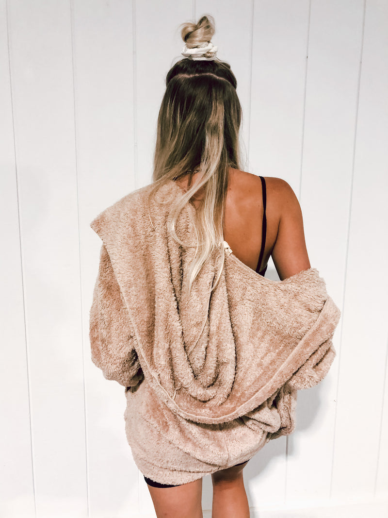 Taupe Bear Coat