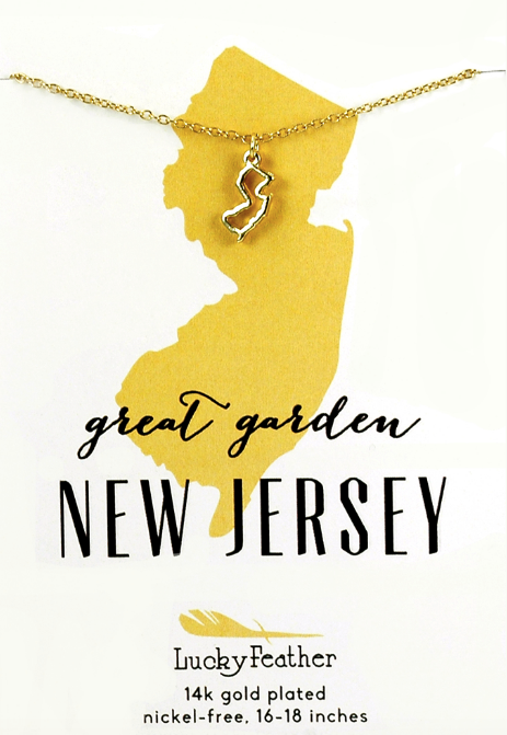 New Jersey Gold Necklace