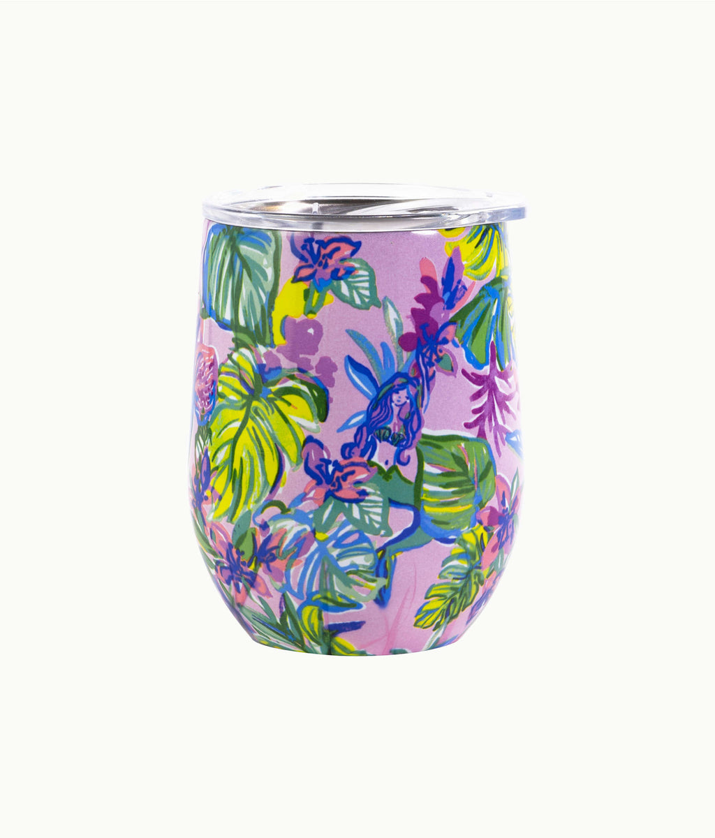 Lilly Pulitzer Insulated Stemless Tumbler in Mermaid in the Shade