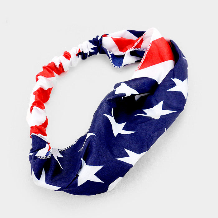 Red White & Blue Headband