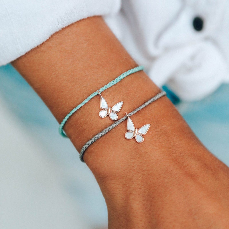 Pura Vida Save the Butterflies Charm Bracelet