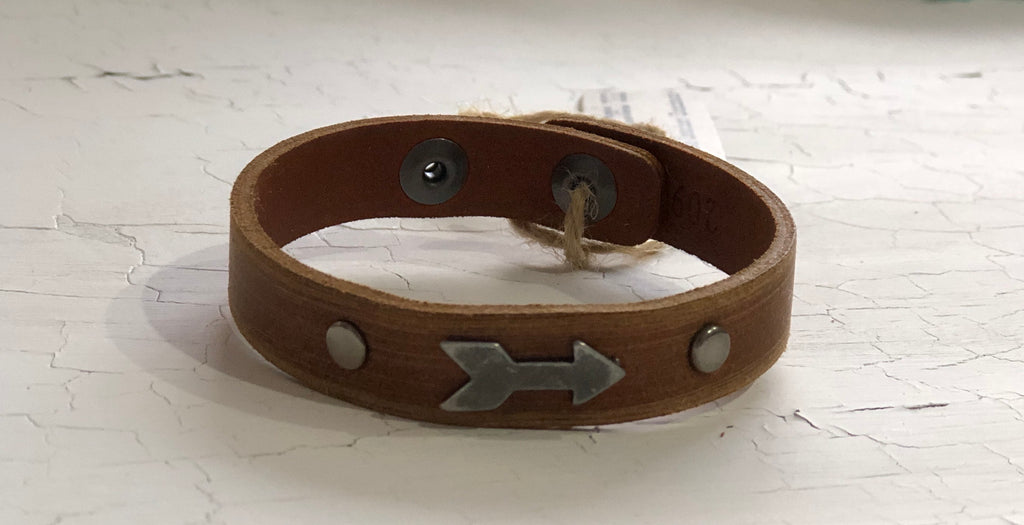 Arrow Leather Bracelet