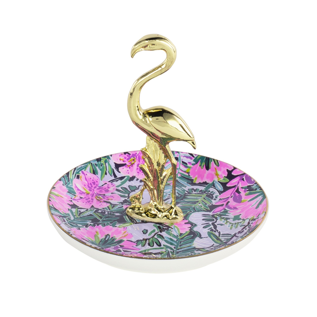 Lilly Pulitzer Flamingo Ring Dish