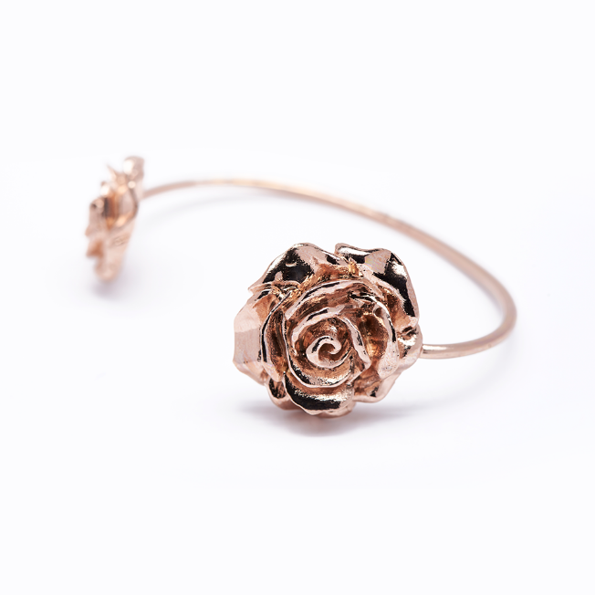 Pulsera Doble Rose Rose