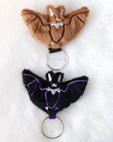 Bat - Soft Charm / Keychain Plush
