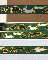 Woodland Friends - Gold Foil Washi tape