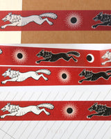 Hati and Skoll - Mythological Wolves Washi tape