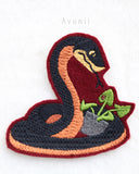 Crowley Snake Demon - Embroidered Iron-on Patch