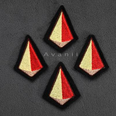 Jasper Gem - Embroidered Iron-on Patch