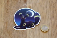 Umbreon / Dark Fox - Vinyl Sticker