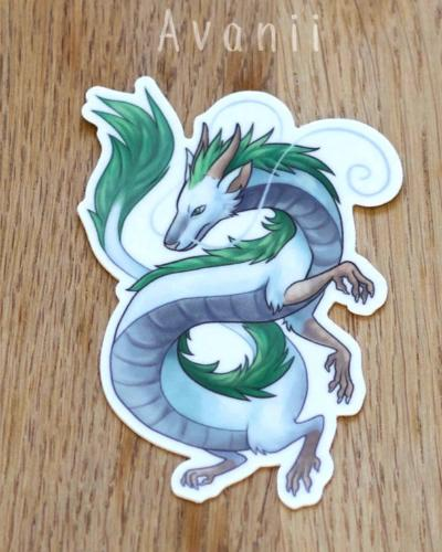 Eastern Dragon - Vinyl Sticker