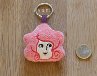 Rose Quartz - Soft Charm / Keychain Plush