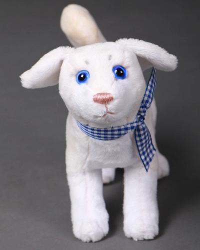 Buttercup the Dog  - handmade plush animal - minky miniature