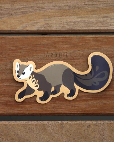 Pine Marten - Fridge Magnet