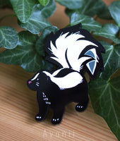 Little Companion: Skunk - acrylic pin