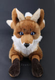 Large Kitsune Fox - Handmade plush animal - realistic fantasy doll