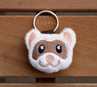 Ferret - Soft Charm / Keychain Plush
