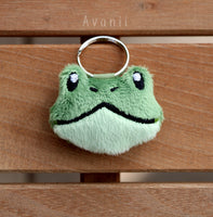 Frog / Toad - Soft Charm / Keychain Plush