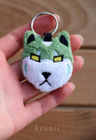 Green Robot Lion - Soft Charm / Keychain Plush