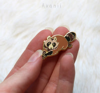 Ring-Tailed Rascal: Tanuki - Hard Enamel Pin