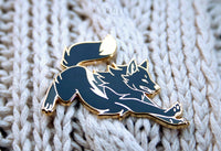 Dashing Wolf Black Dawn - Hard Enamel Pin