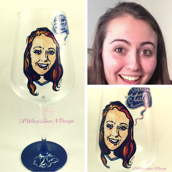 Wincy Caricature Glassware