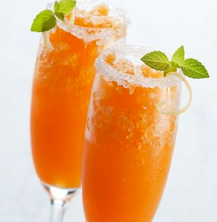 Green_Tea_Slush_With_Apricot_Nectar