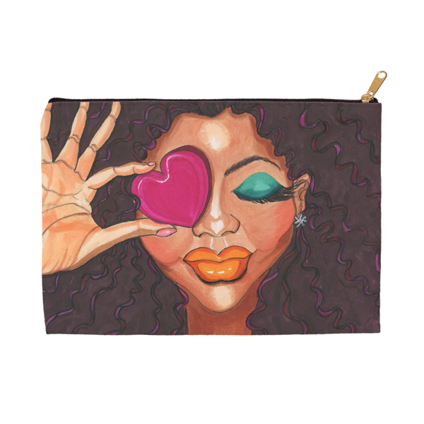 Loving Me Accessory Pouches - A Wincy Glass N Design