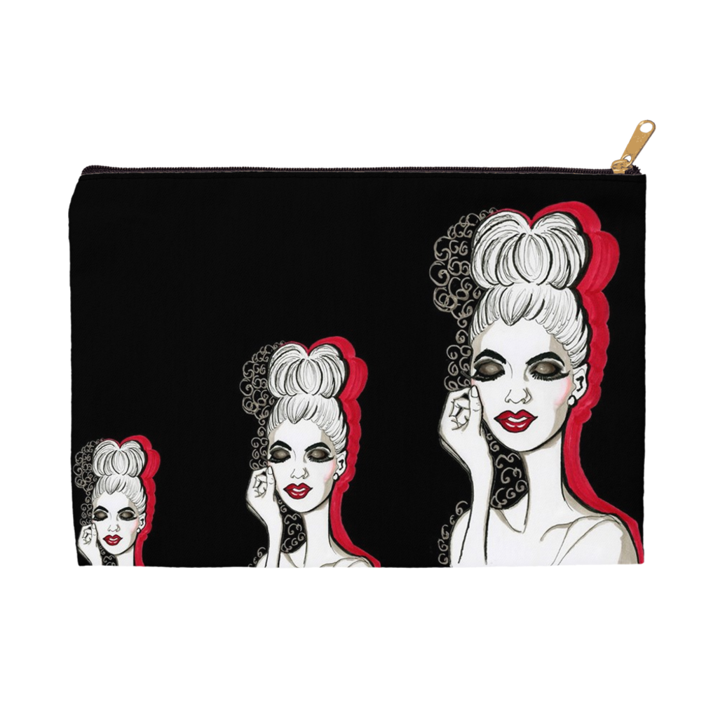 Miss Smokey Accessory Pouches - A Wincy Glass N Design