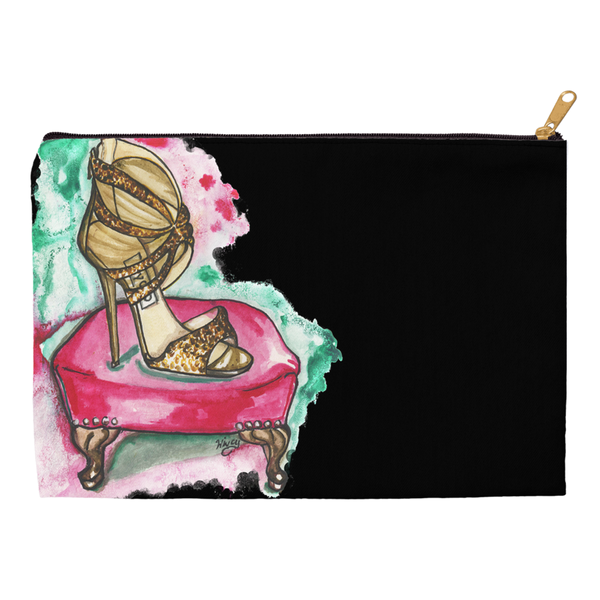 Glitter Sandal Accessory Pouches - A Wincy Glass N Design