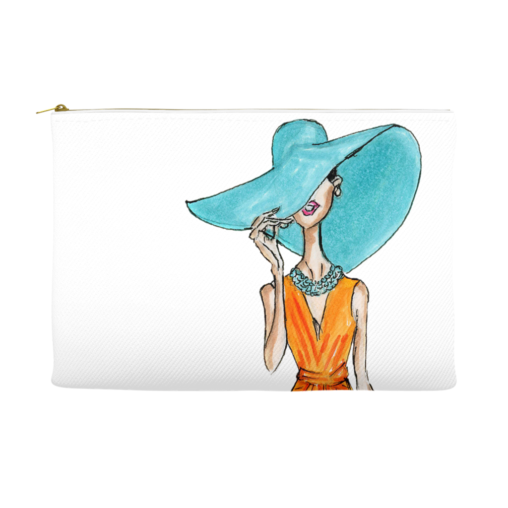 Summer Vibes Accessory Pouches - A Wincy Glass N Design