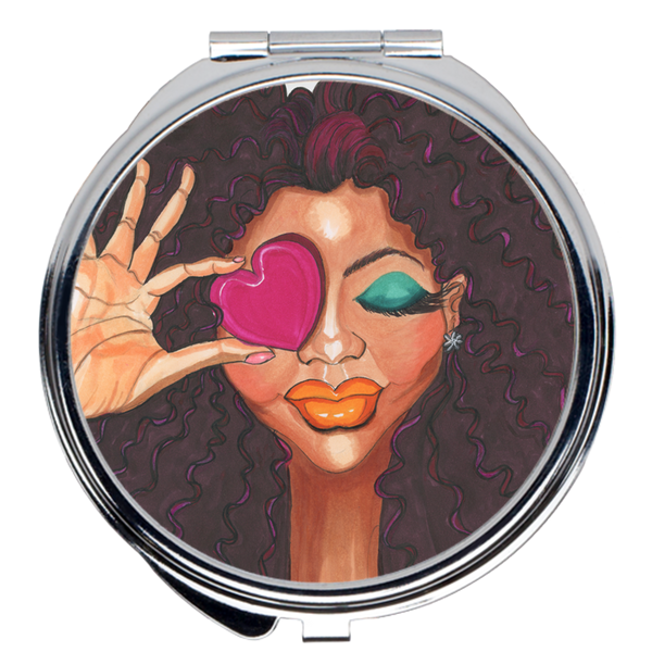 Loving Me Compact Mirrors - A Wincy Glass N Design