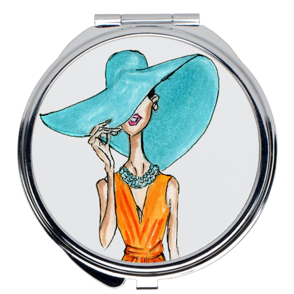 Summer_Vibes_Compact_Mirror-2x2-Round
