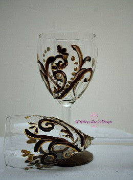 Wedding Favor Wine Glass - A Wincy Glass N Design