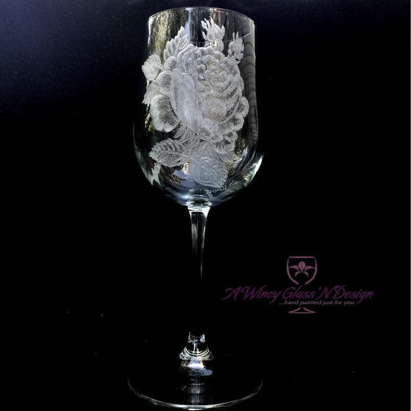 Hand Engraving - A Wincy Glass N Design