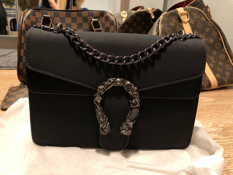 chain flap bag