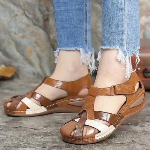 Women Sandals Mix Color Heels Sandals Summer Shoes Woman Gladiator Wedges Chaussures Femme Casual Chalas Mujer Platform Shoes