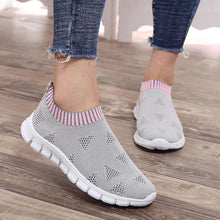 Load image into Gallery viewer, Casual Women Shoes Plus Size Sneakers Women's Breathable Mesh Sports Shoes Female Slip On Platform Sneakers o01